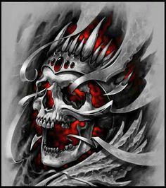 Skull blaze