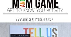 M and M Get to Know you Game. This idea is great for groups to get to know each other. Sunday School Games, Back To School Activities, School Fun, First Day Of School, School Stuff, School Ideas, Teen Team Building Activities, Team Building Games, Recovery Games