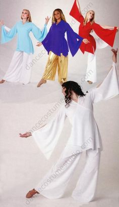 NWT Praisewear Tunic Liturgical Church Dance Gold Sequin Floral Tapestry tafetta