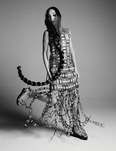 Dancer Maddie Ziegler poses for Hunger Magazine. Photo: David Roemer