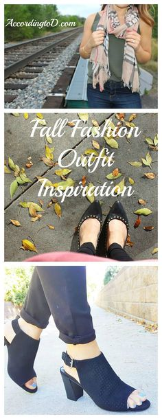 Fall fashion outfit inspiration. Fall shoes. Fall tops. Fall scarves. Fall style 2016
