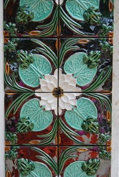 Portuguese tiles by Bordalo Pinheiro. pinned with Pinvolve - pinvolve.co