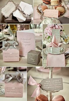 Miss. MP: The Chronicles of a Sassy Magnolia: Pink and Grey Wedding Ideas