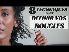 8 TECHNIQUES POUR DÉFINIR VOS BOUCLES - Olivia Rose - YouTube