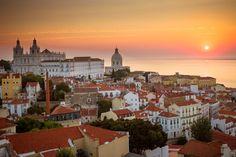 地球の西の果ての港街~リスボンをじっくり歩いてみた「絶景写真」