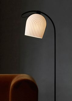 ARC Lighting Collection Inspired by the Interior of a Copenhagen Church - Design Milk #FloorLamp
