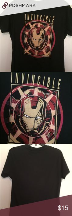 NWOT YOUNG MEN'S MARVEL IRONMAN T-SHIRT NWOT YOUNG MEN'S MARVEL IRONMAN black shirt sleeve t-shirt Marvel Shirts Tees - Short Sleeve