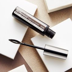 Sparse brows? Maybelline Brow Precise Fiber Volumizer is your brow solution! This fiber-infused brow filling mascara adds the illusion of thick, full brows while keeping your brows in place all day. Add volume and color for the ultimate eyebrow boost.