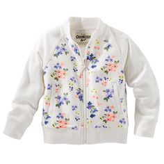 Reverse French Terry Bomber Jacket