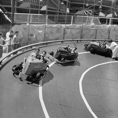 Midget Racing Cars at New York World's Fair - 1939