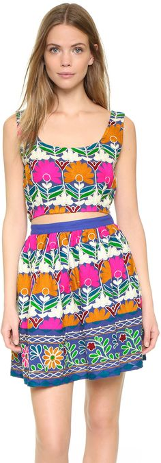 All Things Mochi Jaipur Miniskirt & Top Set