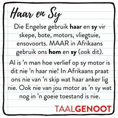 Haar en sy Afrikaans Language, Afrikaanse Quotes, Education Humor, Celebrity Travel, Travel Design, Teaching Tips, Success Quotes, Lesson Plans, Art Quotes