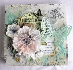 Canvas for a friend - Scrapbook.com