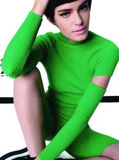 knitGrandeur®: Verde com inveja