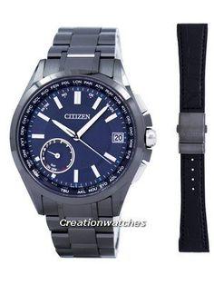 Citizen Attesa Eco-Drive Satellite Wave Perpetual Calendar Japan Made GPS CC3015-57L Men's Watch