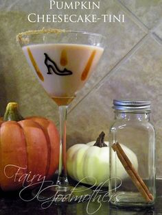 Pumpkin Cheesecake-tini. I need to have a holiday party just for these drinks! - Click image to find more popular food & drink Pinterest pins