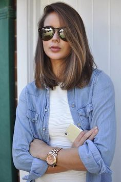 What you need to do now is look at all the gorgeous shoulder length hairstyles given here and work out which are the ones that you are going to try this year.