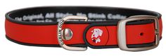 All Style, No Stink Dog Collar, Red Gray, Medium 12.5' x 17' ** Tried it! Love it! Click the image. : Stuff for dog