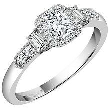 Emmy London Platinum 1/2 Carat Diamond Solitaire Ring - Product number 4542010
