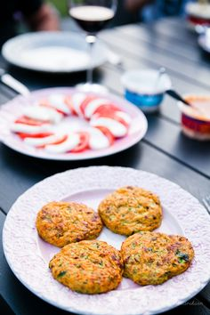 Sötpotatis / Zucchiniplättar Sweetpotatoes / Zucchini fritters