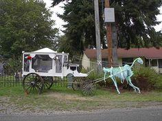 Halloween horse drawn hearse by HF member Boone6666
