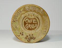 Korai Gerbeaud  CAFE GRILLE csokoládé doboz / Vintage Chocolate Box, Candy Box