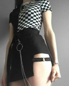 Pastel Goth Outfits, Gothic Outfits, Edgy Outfits, Retro Outfits, Grunge Outfits, Egirl Fashion, Teen Fashion Outfits, Grunge Fashion, Korean Fashion