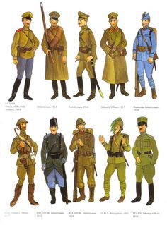 Ww1 Russian Uniforms