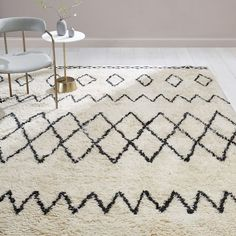 Kasbah Rug, Ivory At West Elm - Area Rugs - Throw Rugs - Patterned Rugs - Floor Mats West Elm, Global Decor, Circle Rug, Decor Inspiration, Shops, Nursery Rugs, Geometric Rug, Rug Cleaning, Indoor Outdoor Rugs