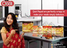 Qoot Papad is all about taste that lingers in the mouth. http://qoot.in/ #bikanerpapad, #punjabimasalapapad, #buypapadonline, #India , #qootpapad , #QootMasti