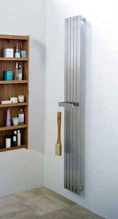 Seriously cool radiator!  Aeon Zephyr Radiator 2000mm High . Buy Designer Radiators from UK Bathrooms