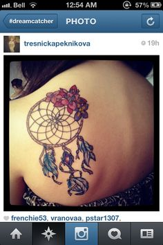 Dreamcatcher tattoo idea