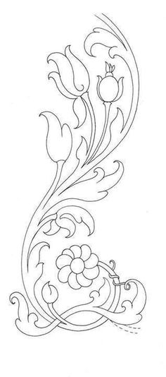 Could be modified into thistles. Leather Tooling Patterns, Leather Pattern, Quilling Patterns, Craft Patterns, Embroidery Patterns, Hand Embroidery, Coloring Books, Coloring Pages, Leather Carving