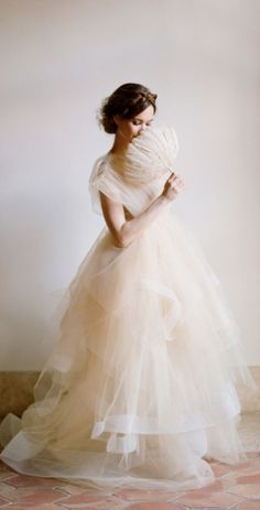 Tulle gown / chaviano