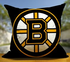 Boston Bruins , Decoration , Sova Pillow , Retro Pillow , Throw Pillow , Bedroom Pillow , Pillow Case.