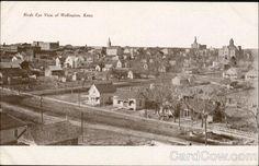 Bird's Eye View Of Wellington Kansas
