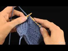 Make 1 With Left Twist (M1L) How to Increase: Learn how to knit the M1L stitch with this free video from AnniesCatalog.com.