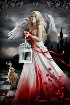 Book Cover: Angel by ~Ravven78 on deviantART