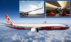 Boeing's 777-9X is so wide wings have to fold so it can use airports