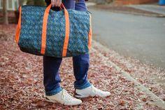 Diamond Jungle Travel Bag - Fully Customizable at MyWearStore.com