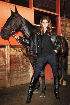 Giddy up in head-to-toe #Gucci.