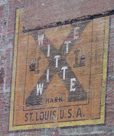 Witte ghost sign, St. Louis