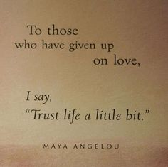 Acredite na vida