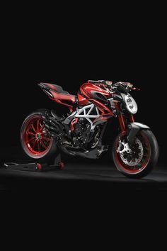 MV Agusta Brutale 800 RR can find Mv agusta and more on our website. Moto Bike, Motorcycle Bike, Honda Scrambler, Honda Cb750, Mv Agusta Dragster, Ducati 1299 Panigale, Hamilton, Motorbike Design, Motosport