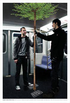 MilliontreesNYCBrilliant advertising