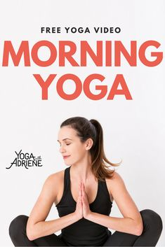 Yoga To Start Your Day is a yummy full body sequence to get you st Morning Yoga! Yoga To Start Your Day is a yummy full body sequence to get you st… – Health Benefits, Health Tips, Yoga Fitness, Health Fitness, Fitness Hacks, Free Yoga Videos, Yoga With Adriene, Meditation, Morning Yoga