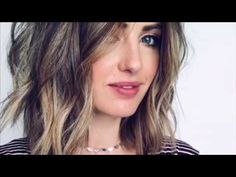 Hair Tutorial: How to do EASY beach waves with a Flat Iron - YouTube