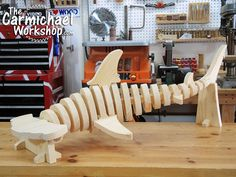 This hammerhead shark would make a perfect woodworking project!