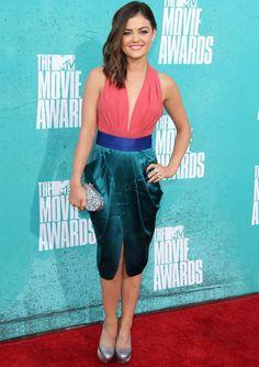 MTV Movie Awards 2012 Red Carpet -- Lucy Hale