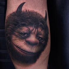 Tattoo by Rich Pineda ~ Where the Wild Things Are...Sendak childhood magic.